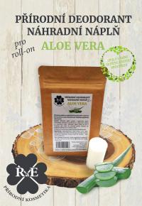 Náhradní náplň do přírodního deodorantu roll-on 22 g - Aloe Vera