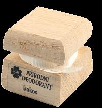 Přírodní krémový deodorant s vůní kokosu 50 ml