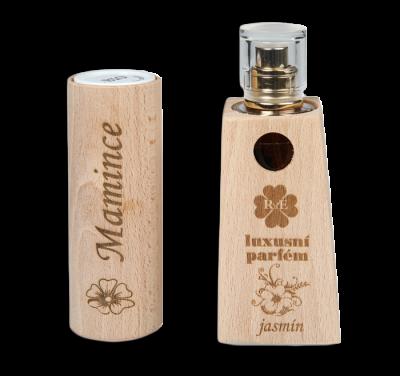 RaE přírodní kosmetika - Dámský dárkový balíček - Parfém + Deodorant roll-on