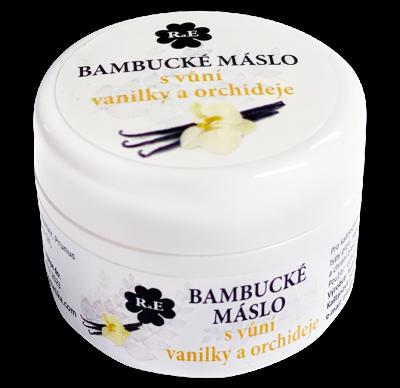 RaE přírodní kosmetika - Bambucké tělové máslo s vůní vanilky a orchideje 30 ml  50 ml