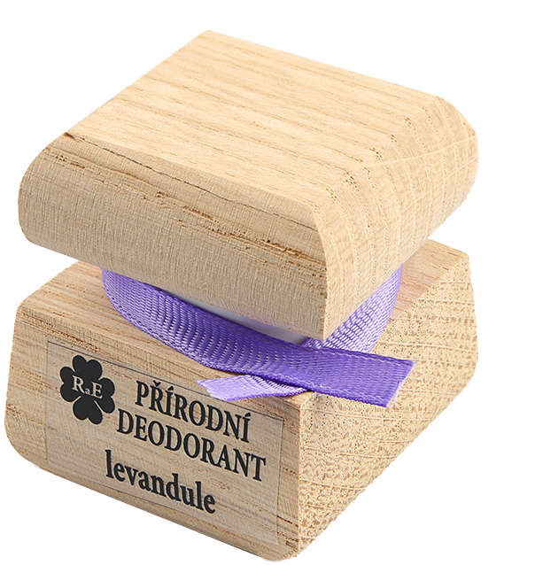 Přírodní krémový deodorant s vůní levandule