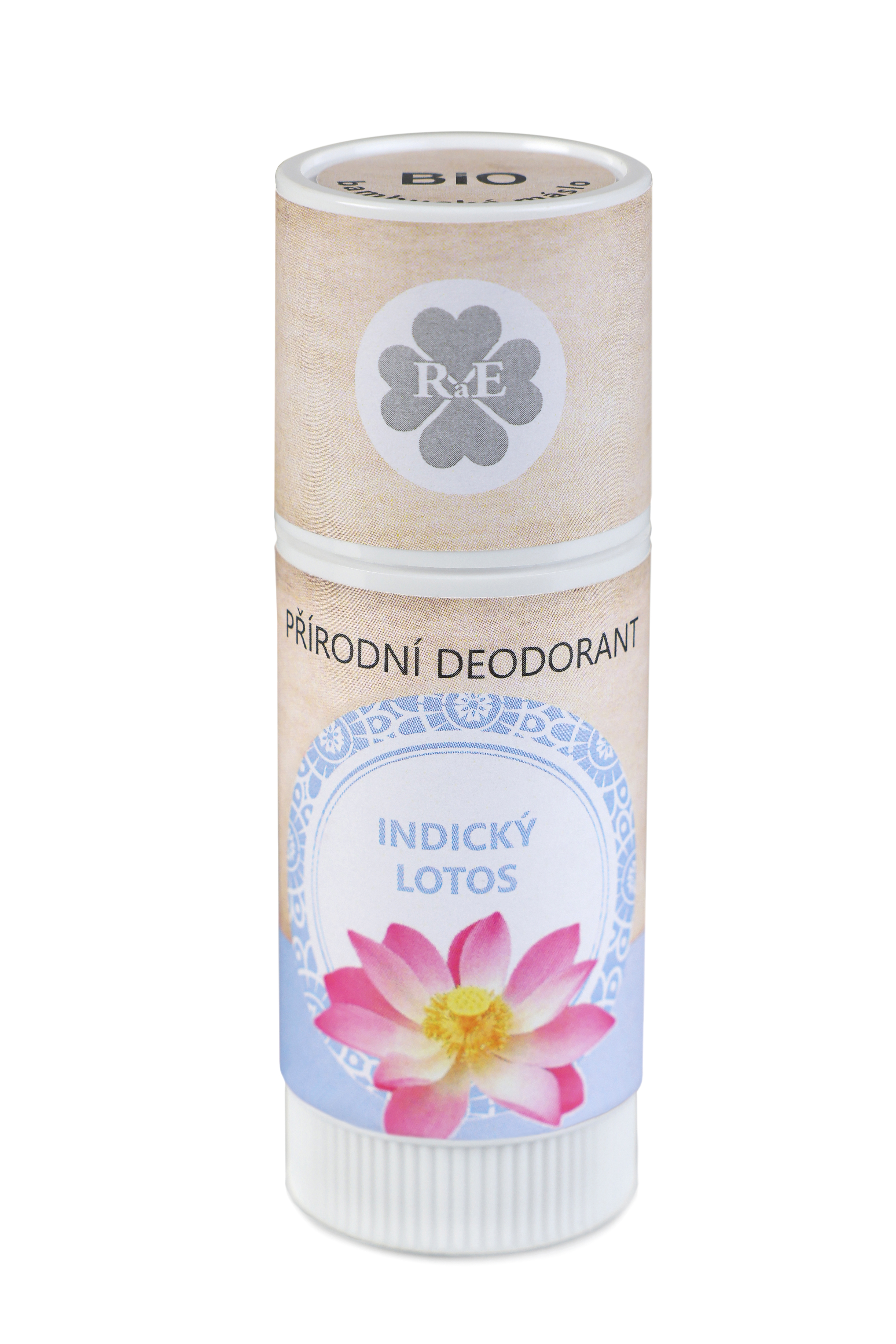 Přírodní deodorant BIO bambucké máslo s vůní indického lotosu 25 ml