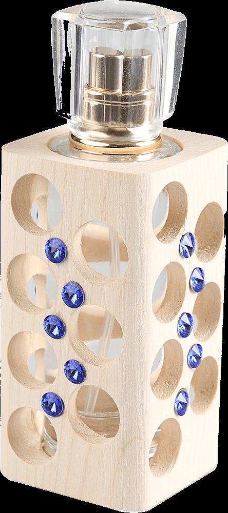 Luxusní tekutý parfém edice Swarovski  - modrý - 30 ml - náplň dle výběru