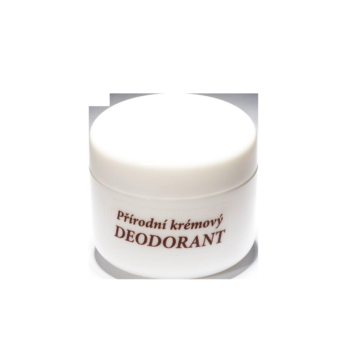 Přírodní krémový deodorant 50 ml - náplň (vůně dle výběru)