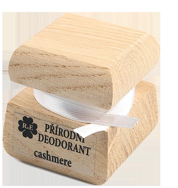 Přírodní krémový deodorant s vůní kašmíru