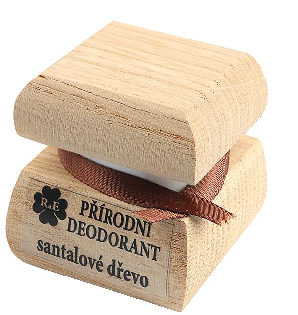 Přírodní krémový deodorant s vůní i santalového dřeva
