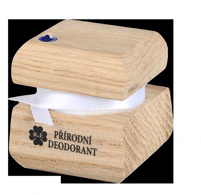 RaE přírodní kosmetika - Přírodní krémový deodorant edice Swarovski - modrý - 15 ml - náplň dle výběru  Náplň bez parfemace