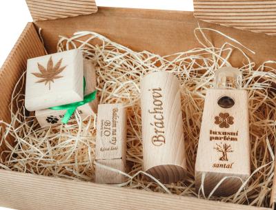 RaE přírodní kosmetika - Pánský dárkový balíček - Velký  Klasický
