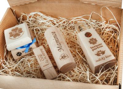 RaE přírodní kosmetika - Dámský dárkový balíček - Lotos - Velký