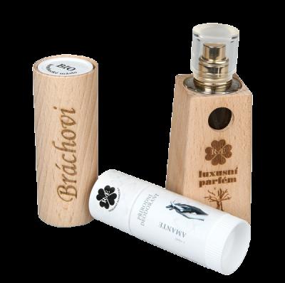RaE přírodní kosmetika - Pánský dárkový balíček - Parfém + Deodorant roll-on