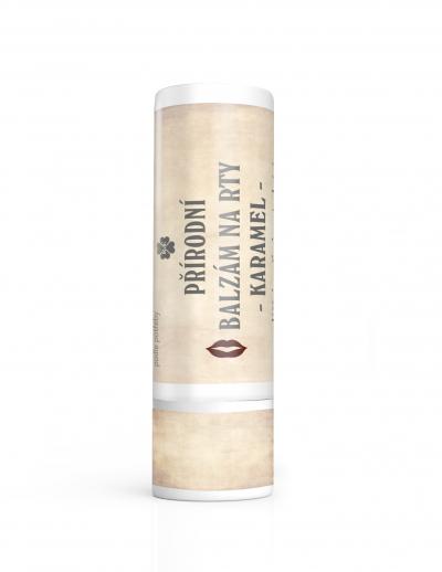 RaE přírodní kosmetika - BIO balzám na rty s příchutí karamelu 7,5 ml 7,5 ml