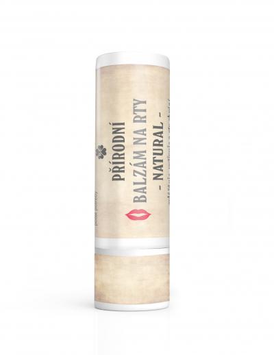 RaE přírodní kosmetika - BIO balzám na rty natural 7,5 ml 7,5 ml