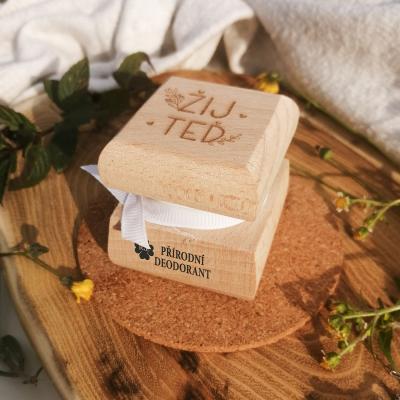 RaE přírodní kosmetika - Přírodní krémový deodorant Žij teď - náplň dle výběru  aloe vera