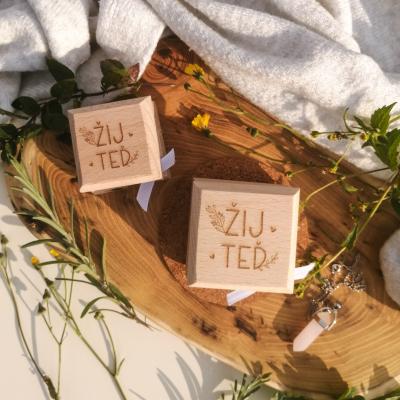 RaE přírodní kosmetika - Bambucké máslo + deodorant - Žij teď 30 ml a 15 ml Koenzymem Q10 s vůni kašmíru