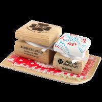 Bambucké tělové máslo Q10 s vůní kašmíru 50 ml + Krémový deodorant Color 15 ml - Cashmere