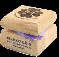Bambucké tělové máslo s levandulí 50 ml