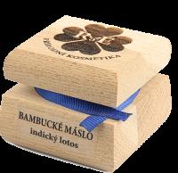 Bambucké tělové máslo s vůní indického lotosu 50 ml