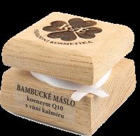 Bambucké tělové máslo s koenzynem Q10 s vůní kašmíru 50 ml