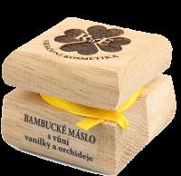 Bambucké tělové máslo s vůní vanilky a orchideje 50 ml