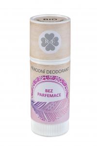 Přírodní deodorant BIO bambucké máslo bez parfemace 25 ml