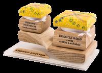 Barevná limitovaná edice - Bambucké tělové máslo 30 ml + Krémový deodorant 15 ml - Vanilka a Orchidej