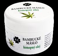 Bambucké tělové máslo s konopným olejem 30 ml