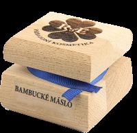 Bambucké tělové máslo 30 ml - náplň dle výběru