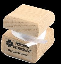 Přírodní krémový deodorant bez parfemace