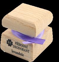 Přírodní krémový deodorant s vůní levandule 50 ml