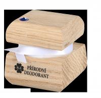 Přírodní krémový deodorant edice Swarovski - modrý - 15 ml - náplň dle výběru
