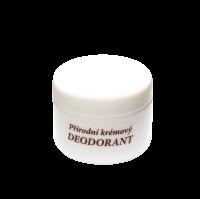 Přírodní krémový deodorant 15 ml - náplň (vůně dle výběru)