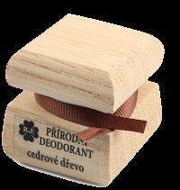 Přírodní krémový deodorant s vůní cedrového dřeva 50 ml
