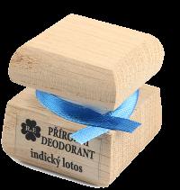 Přírodní krémový deodorant s vůní indického lotosu