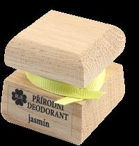Přírodní krémový deodorant s vůní jasmínu