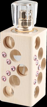 Luxusní tekutý parfém edice Swarovski - růžový - 30 ml - náplň dle výběru