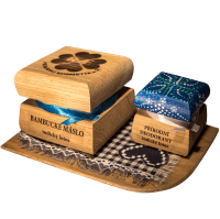 Bambucké tělové máslo 50 ml + Krémový deodorant Color 15 ml - Indický lotos