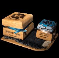 Bambucké tělové máslo 50 ml + Krémový deodorant Color 15 ml - Indický lotos - mandala