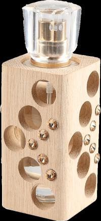 Luxusní tekutý parfém edice Swarovski - zlatý - 30 ml - náplň dle výběru